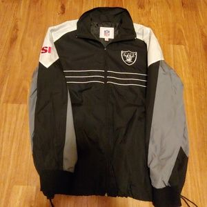 Other - Oakland Raiders NFL Windbreaker full zip